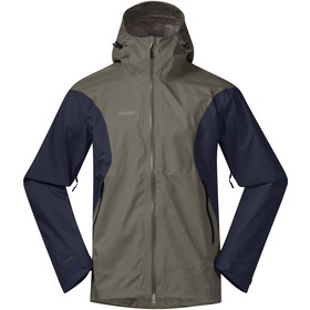 Bergans Letto Jacke Herren green mud/navy